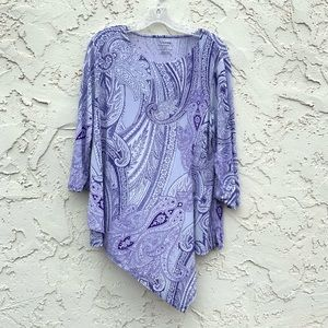 Chico's The Ultimate Tee Blouse Size 2